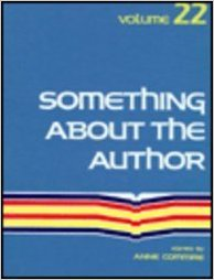 Something about the Author, Vol. 22 book written by Anne Commrie