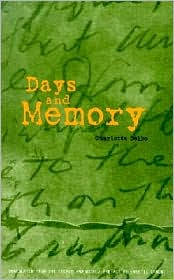 Days and Memory book written by Charlotte Delbo