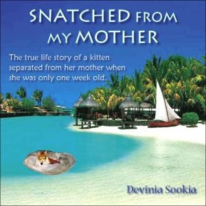 Snatched from My Mother: The true life story of a kitten separated from her mother when she was only one week Old . book written by Devinia Sookia