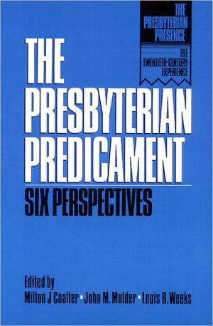 Presbyterian Predicament book written by Robert Wuthnow