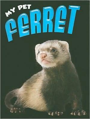 Ferret book written by Tom Riddolls