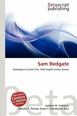 Sam Redgate written by Lambert M. Surhone