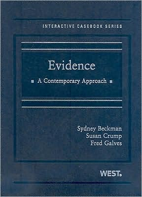 Evidence: A Contemporary Approach book written by Sydney Beckman
