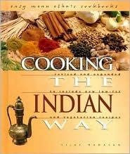 Cooking the Indian Way book written by Vijay Madavan