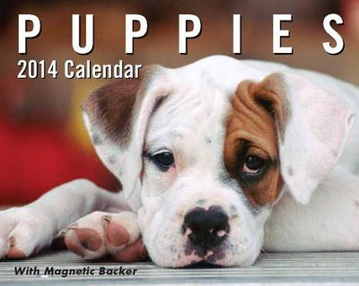 Puppies 2014 Mini Day-To-Day Calendar book written by Andrews McMeel Publishing