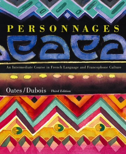 Personnages written by Michael Oates,Jacques Dubois