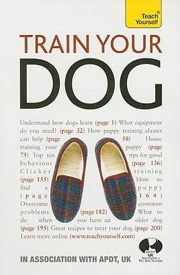 Train Your Dog book written by Association of Pet Dog Trainers UK