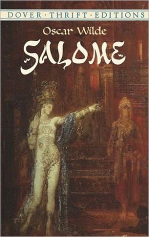 Salome book written by Oscar Wilde