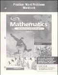 Mathematics Applications And Concepts, Course 2, Practice Word Problems written by McGraw-Hill