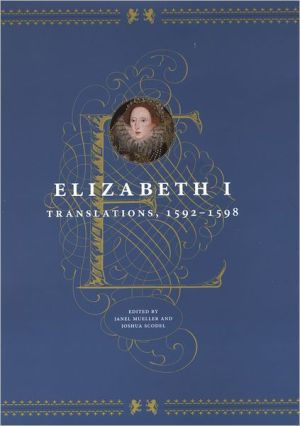 Elizabeth I: Translations, 1592-1598 written by Janel Mueller