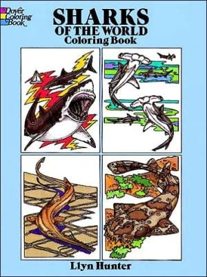 Sharks of the World-Color Book book written by Llyn Hunter