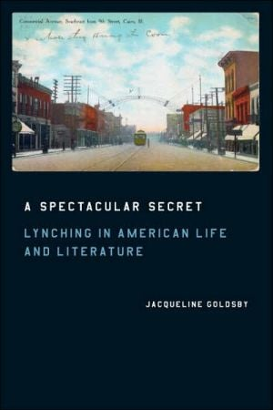 A Spectacular Secret: Lynching in American Life and Literature book written by Jacqueline Goldsby
