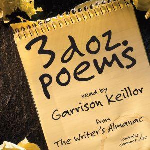 3 Dozen Poems from the Writer's Almanac book written by Writer's Almanac