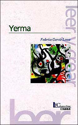 Yerma book written by Federico Garcia Lorca