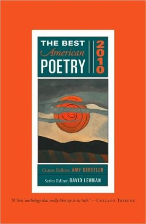 The Best American Poetry 2010 book written by Amy Gerstler