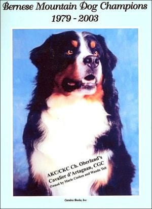 Bernese Mountain Dog Champions, 1979-2003 book written by Staff of Cameo Books