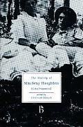 The History of Miss Betsy Thoughtless book written by Eliza Haywood
