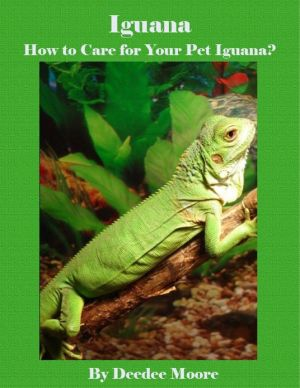 Iguana - How to Care for Your Pet Iguana? written by Deedee Moore