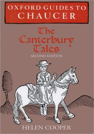 Oxford Guides to Chaucer: The Canterbury Tales book written by Helen Cooper