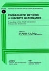 Probabilistic Methods in Discrete Mathematics Proceedings of the Third International Petroza... written by V. F. Kolchin, Yu V. Prokhorov, ...