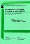 Probabilistic Methods in Discrete Mathematics Proceedings of the Third International Petroza... written by V. F. Kolchin, Yu V. Prokhorov, ...