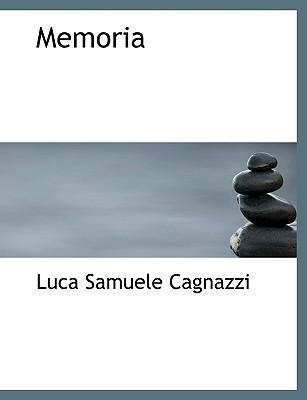 Memoria book written by Cagnazzi, Luca Samuele