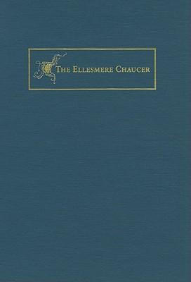 The New Ellesmere Chaucer Monochromatic Facsimile book written by Daniel Woodward