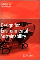 Design for Environmental Sustainability written by Carlo Vezzoli