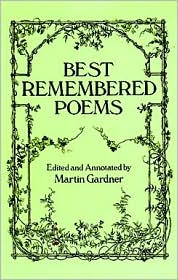 Best Remembered Poems book written by Martin Gardner