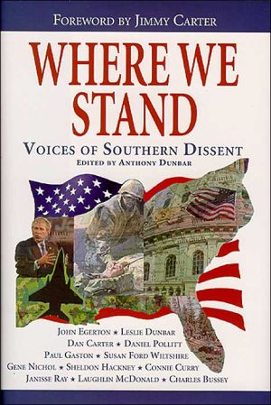 Where We Stand book written by Anthony Dunbar