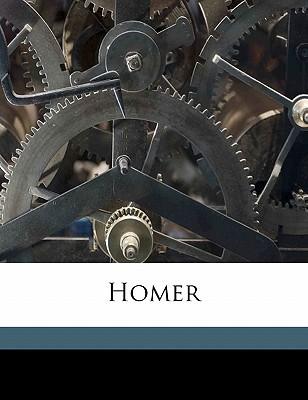 Homer book written by Gladstone, William Ewart