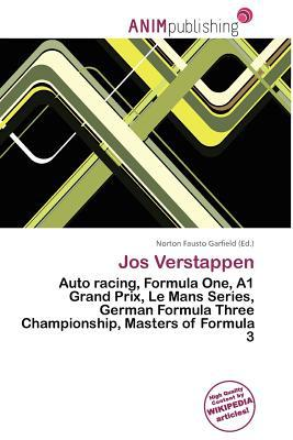 Jos Verstappen written by Norton Fausto Garfield