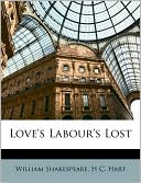 Love's Labour's Lost book written by William Shakespeare