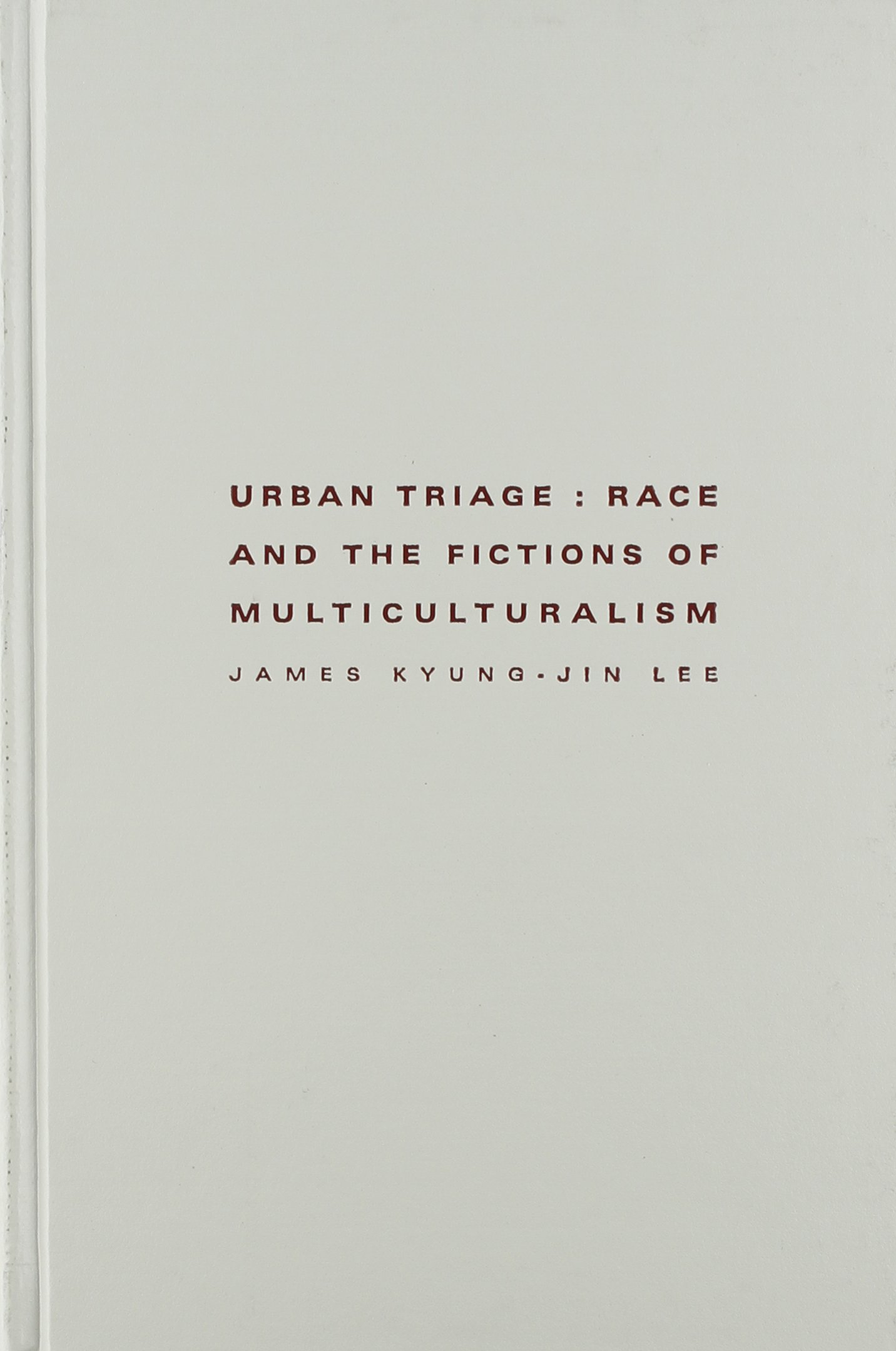 Urban Triage: Race and the Fictions of Multiculturalism book written by James Kyung-Jin Lee
