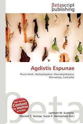 Agdistis Espunae written by Lambert M. Surhone