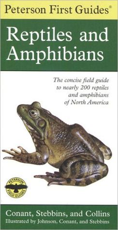Peterson First Guide to Reptiles and Amphibians book written by Robert C. Stebbins