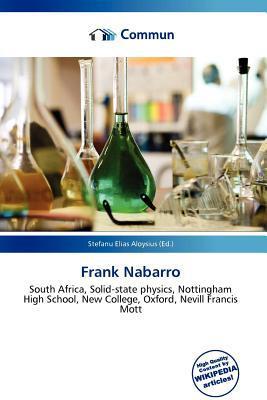 Frank Nabarro written by Stefanu Elias Aloysius
