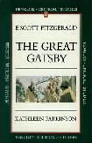 The Great Gatsby: Penguin Critical Studies book written by Kathleen Parkinson