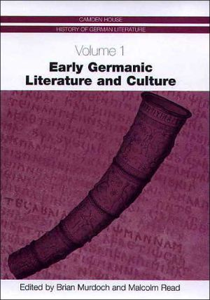 Early Germanic Literature and Culture book written by Brian Murdoch