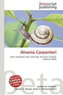 Alvania Carpenteri written by Lambert M. Surhone