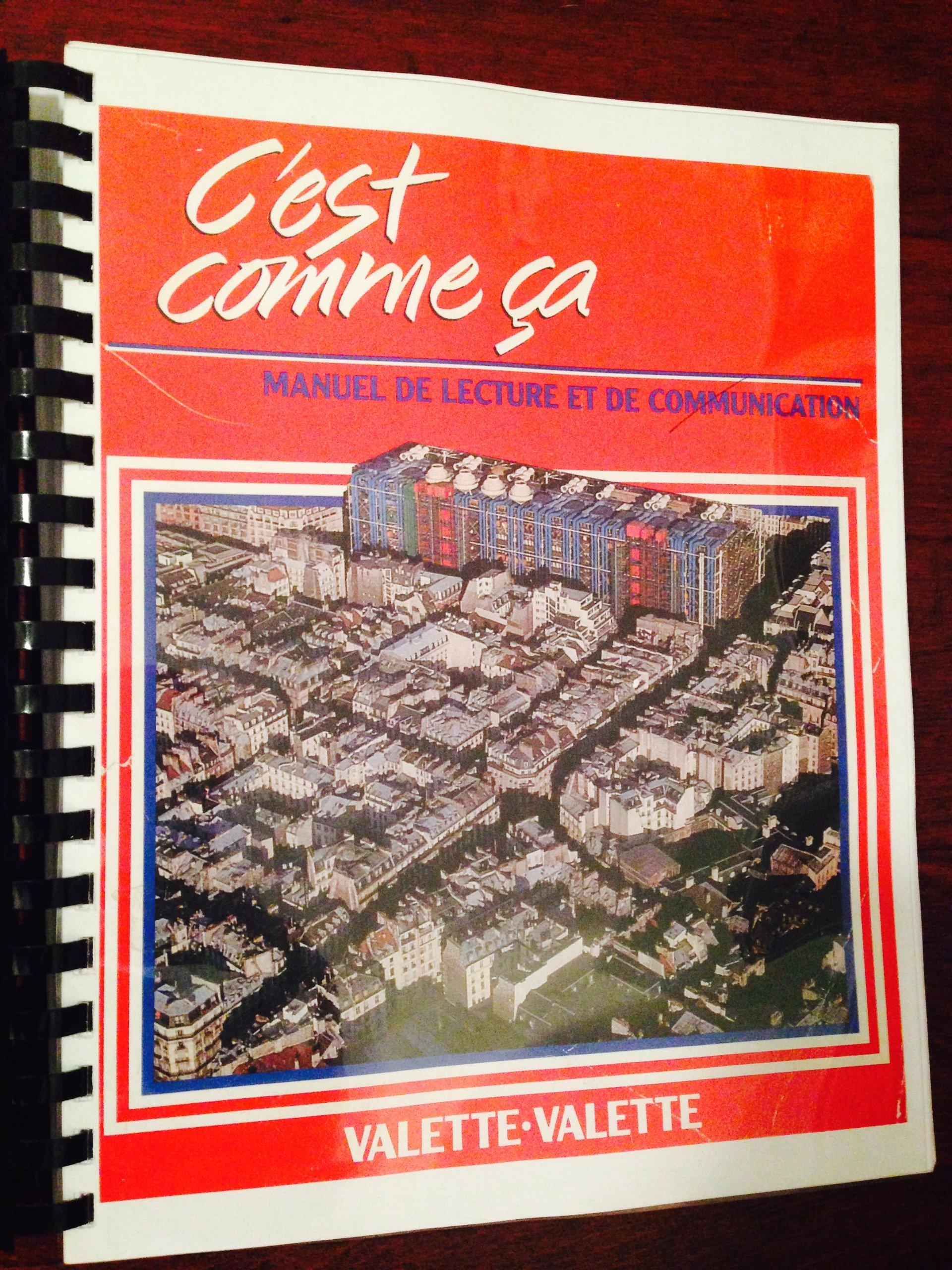C'est comme ça written by J. Valette,R Valette