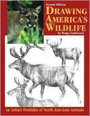 Drawing America's Wildlife : An Artist's Portfolio of North American Animals book written by Doug Lindstrand
