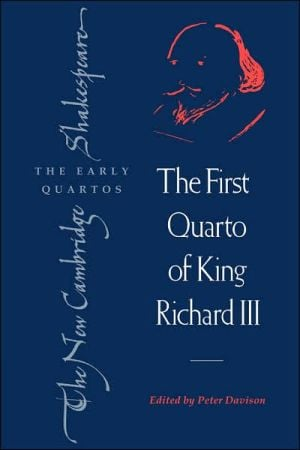 The First Quarto of King Richard III book written by William Shakespeare