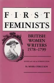 First feminists book written by Moira Ferguson