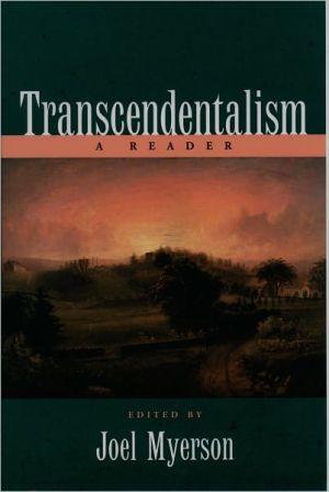 Transcendentalism: A Reader written by Joel Myerson