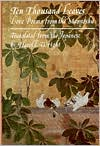 Ten Thousand Leaves: Love Poems from the Manyoshu book written by Anonymous
