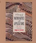 Survey of Mathematics With Applications, 1997 written by Allen R. Angel