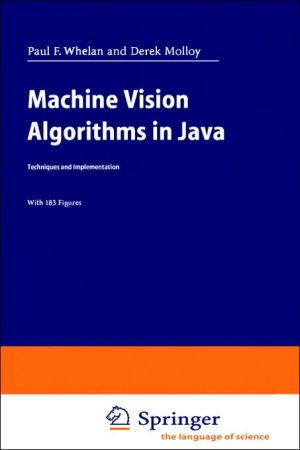 Machine Vision Algorithms In Java book written by Paul F. Whelan