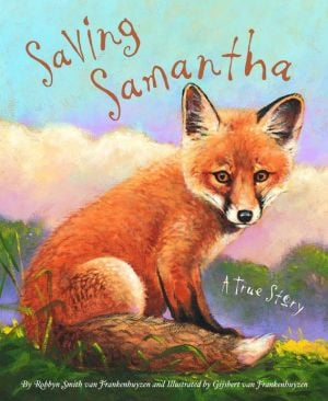 Saving Samantha book written by Robbyn Smith van Frankenhuyzen