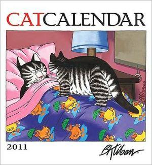 2011 Kliban Catcalendar Wall Calendar book written by B. KLIBAN